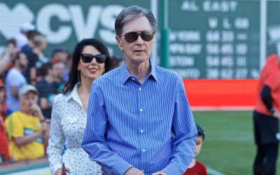 BOSTON, MASSACHUSETTS, USA - Sunday, July 21, 2019: Liverpool's owner John W. Henry before a friendly against Sevilla FC at Fenway Park on day six of the club's pre-season tour of America.