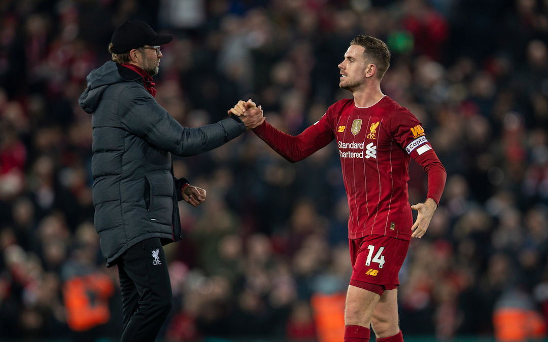 Has Henderson's Form Coincided With More Recognition Of His Role?