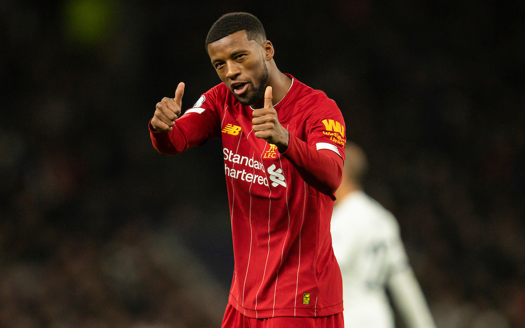 How Gini Wijnaldum Became A Crucial Cog In Klopp's Red Machine