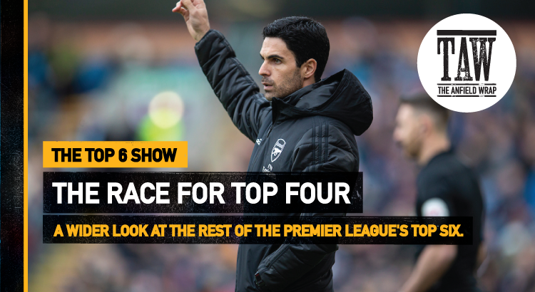 The Race For The Top Four | The Top Six Show