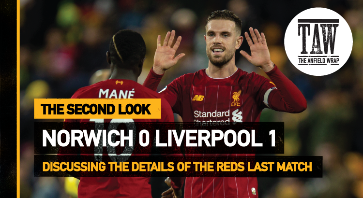 Norwich City 0 Liverpool 1 | The Second Look