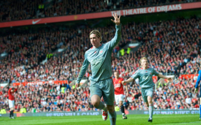 Fernando Torres vs Manchester United March 14th, 2009