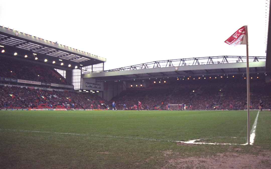 My First Game: Liverpool 2 Manchester United 0 – December 17, 1995