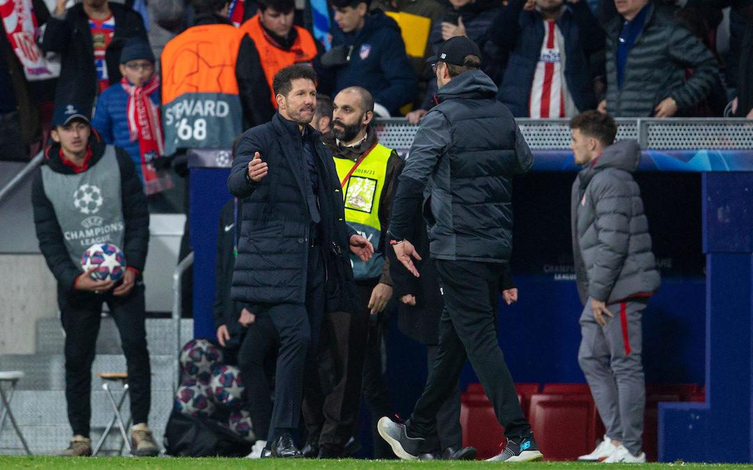 Liverpool v Atletico Madrid: Under The Lights