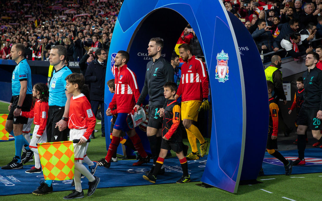 Liverpool v Atletico Madrid: The Champions League Preview