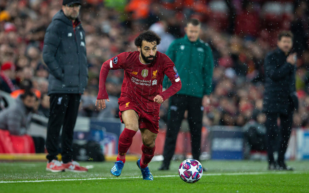 Mo Salah's Performance To Remember On A Night To Forget For Liverpool
