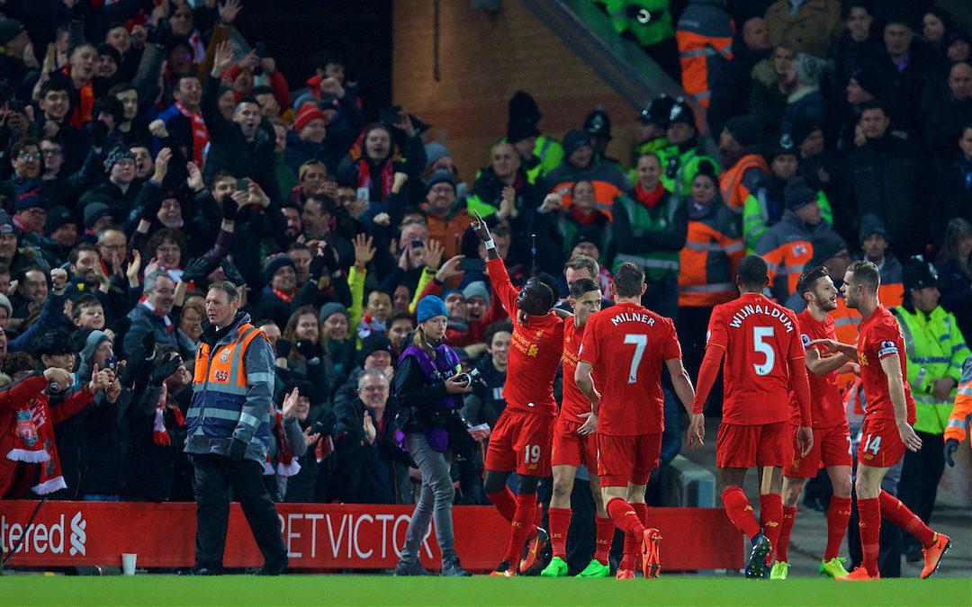My Game Of 2016-17: Liverpool 2 Tottenham 0