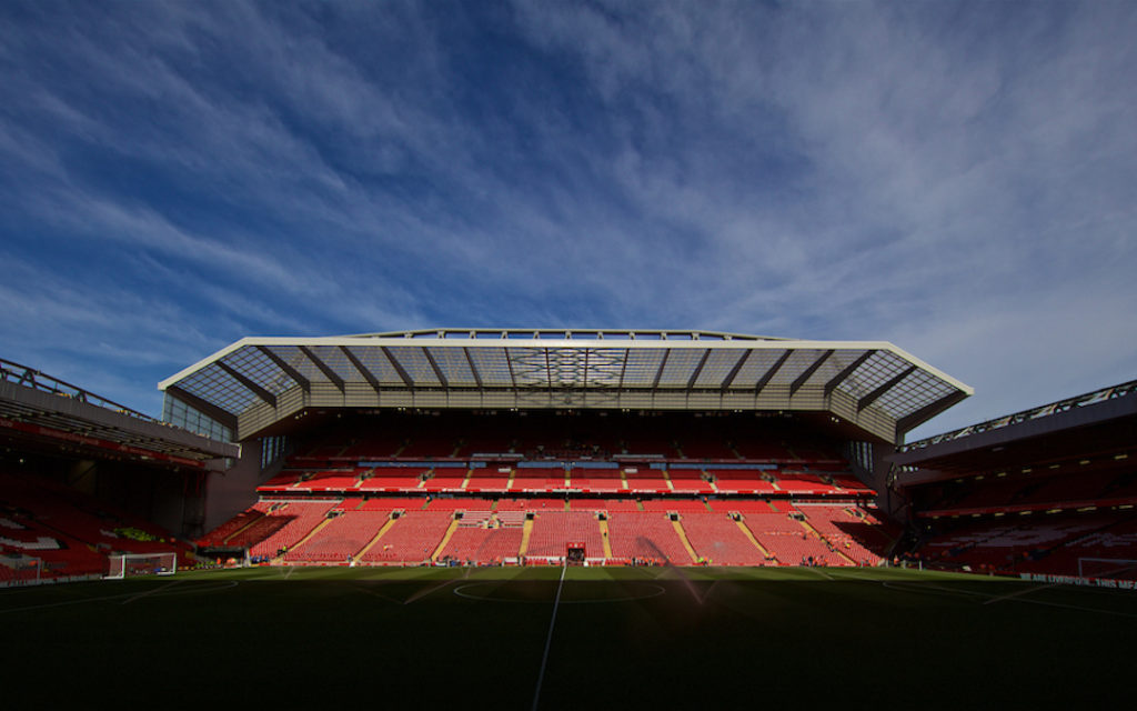 Main Stand Anfield