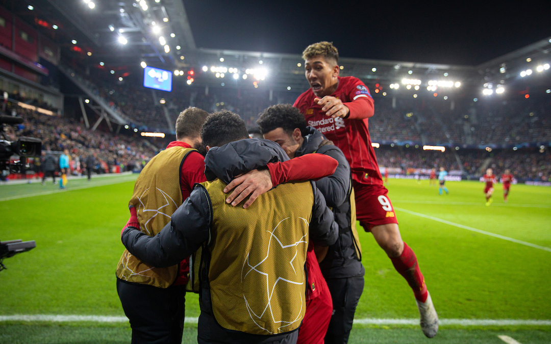 My Game Of 2019-20: Salzburg 0 Liverpool 2