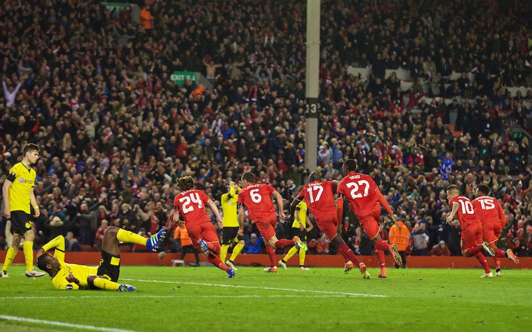 From The Vault: Liverpool 4 Borussia Dortmund 3