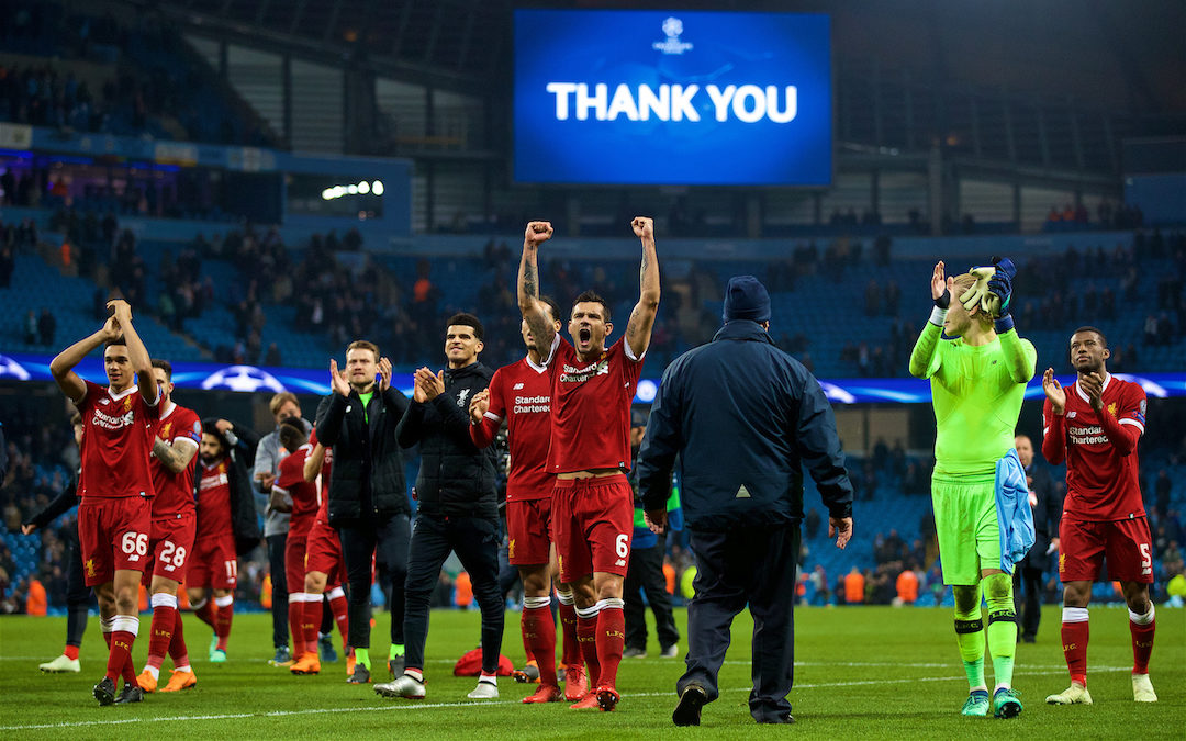 My Game Of 2017-18: Man City 1 Liverpool 2