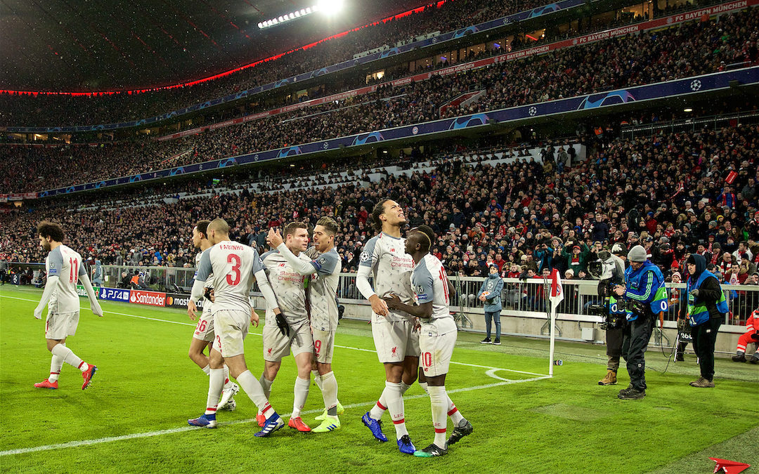 My Game Of 2018-19: Bayern 1 Liverpool 3