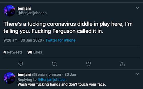 Ben Johnson's Agony Hour