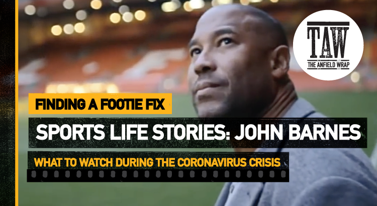 Sports Life Stories: John Barnes | Finding A Footie Fix