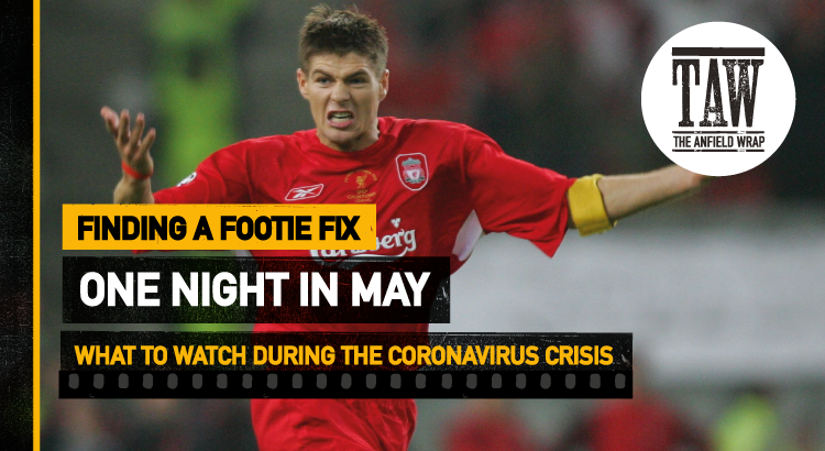 One Night In May   Finding A Footie Fix