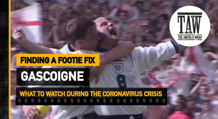 Gascoigne | Finding A Footie Fix