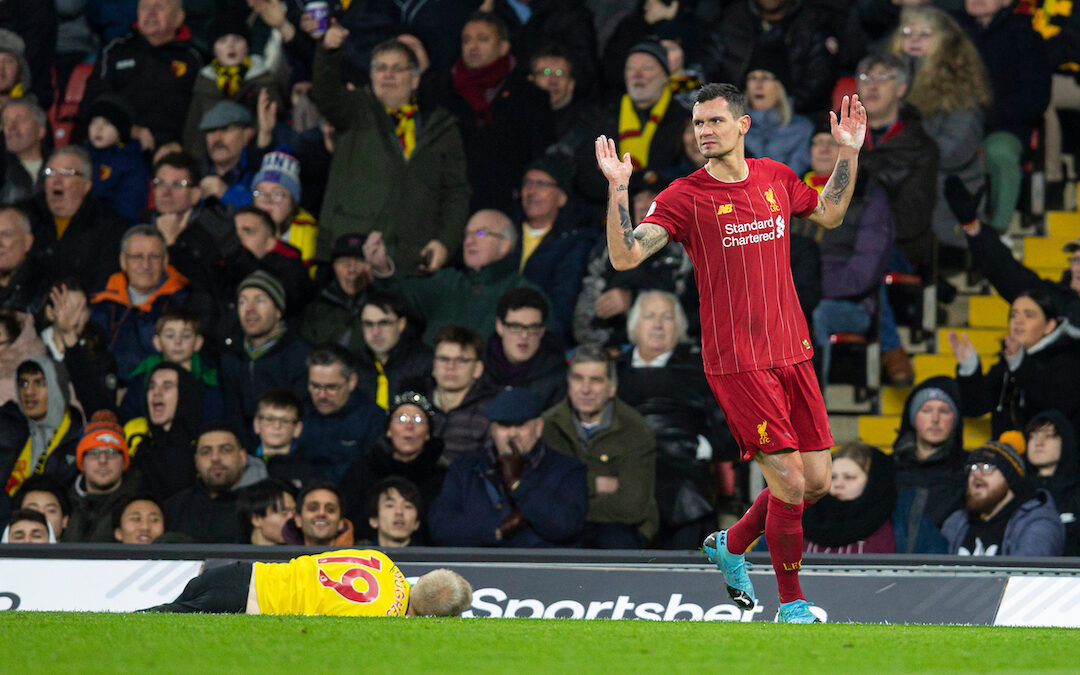 The Lasting Image Of Dejan Lovren At Liverpool