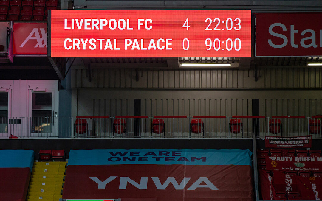 Liverpool 4 Crystal Palace 0: The Match Review