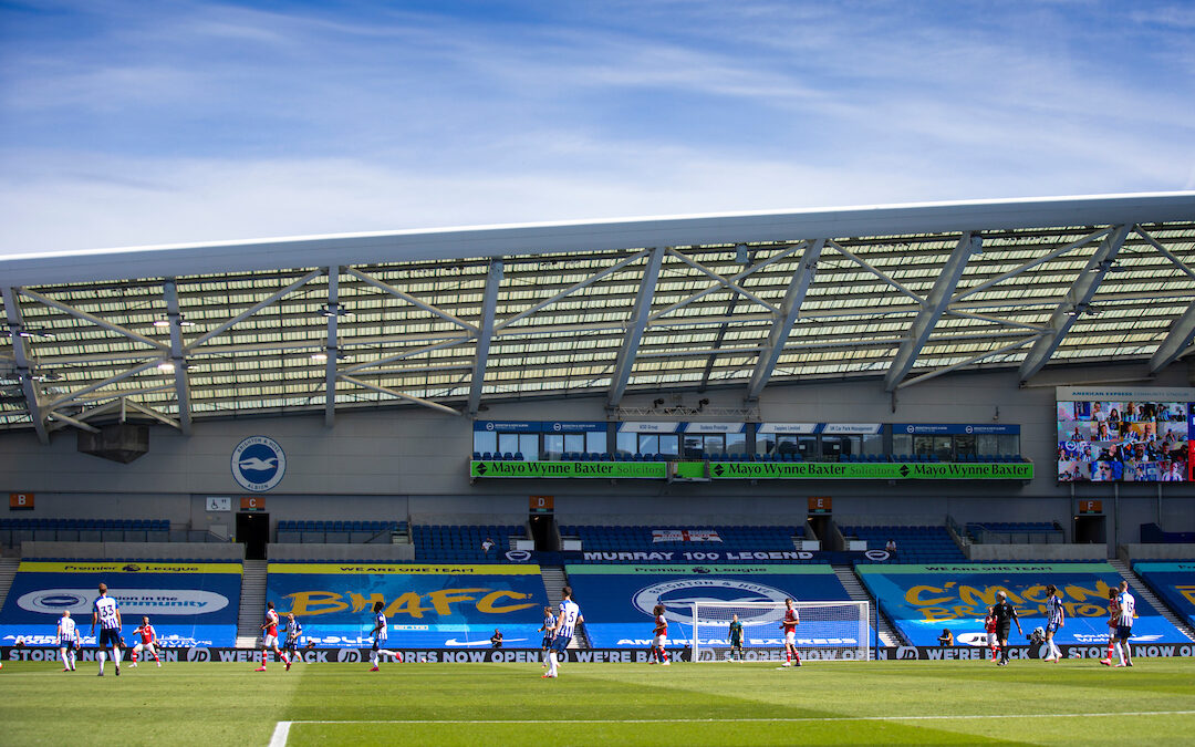 Brighton & Hove Albion v Liverpool: The Big Match Preview
