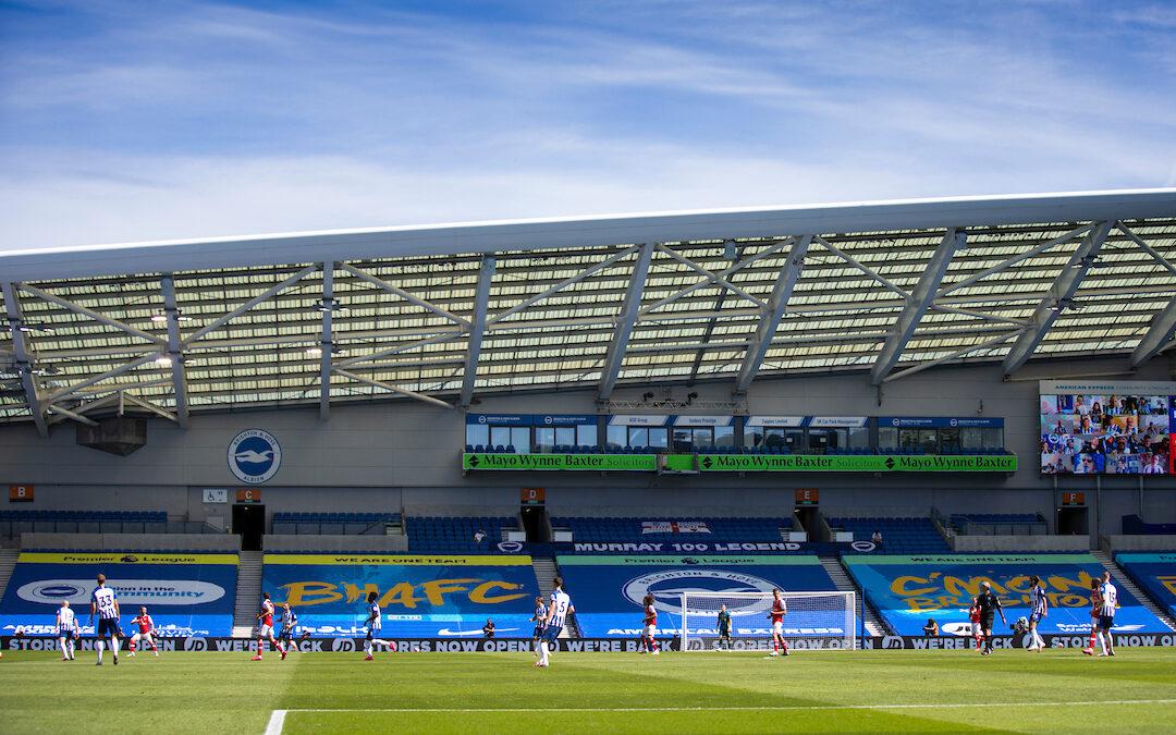 Brighton & Hove Albion v Liverpool: The Big Match Preview