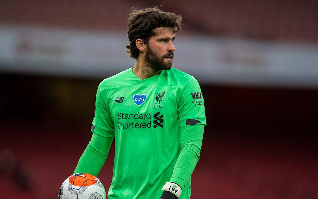 A Week In Which We Were Reminded Of Alisson's Importance