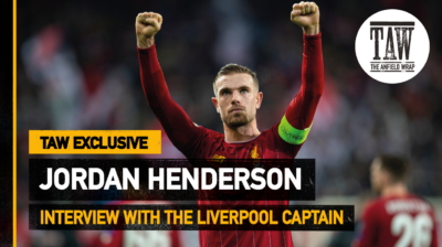 Back in 2020, Jordan Henderson won The Anfield Wrap's Embodiment of Liverpool FC award and we went down to Anfield for a reaction video...
