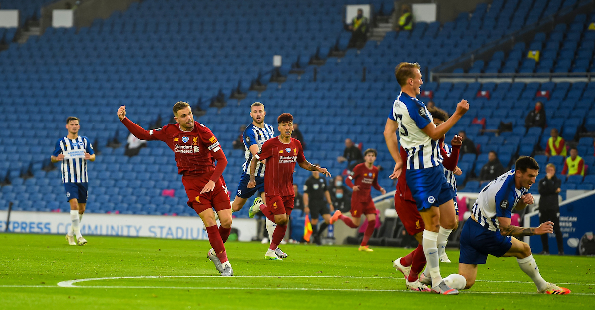 Brighton & Hove Albion 1 Liverpool 3: The Match Ratings | The ...