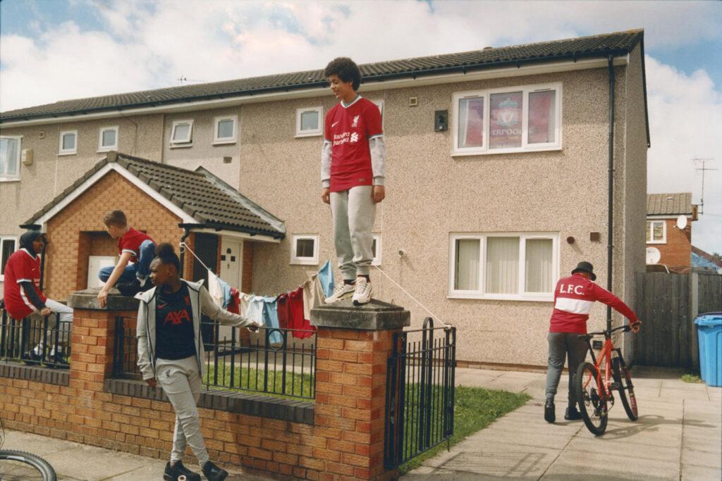 Kingsley United kids in Nike Advert