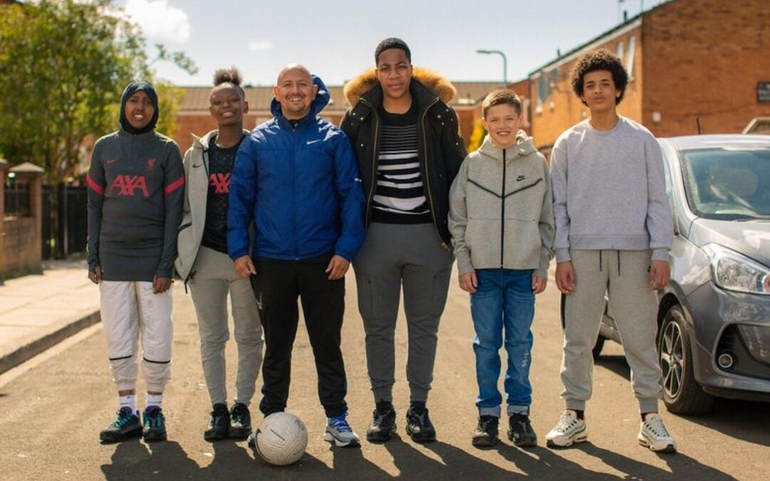 Nike & The Anfield Wrap Partnership with Liverpool Community