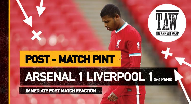 Liverpool 1 Arsenal 1 | The Post-Match Pint