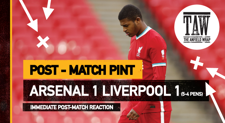 Liverpool 1 Arsenal 1 | The Post-Match Pint
