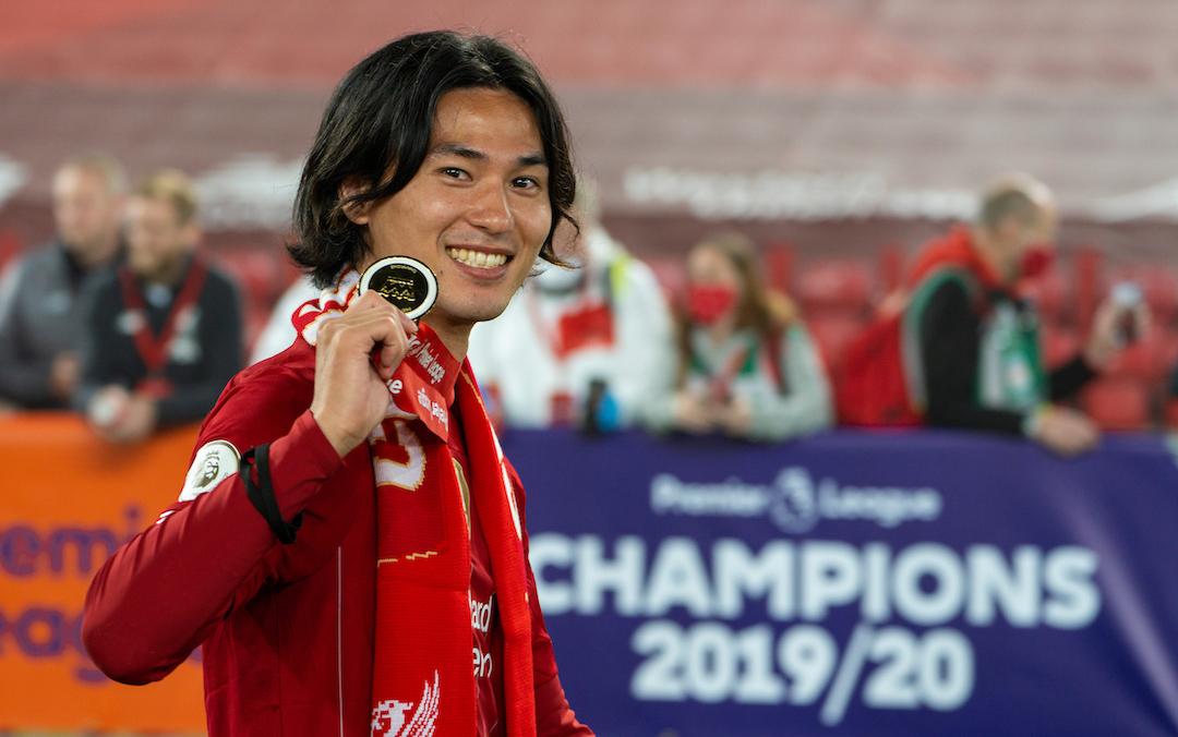 Takumi Minamino Premier League Champion