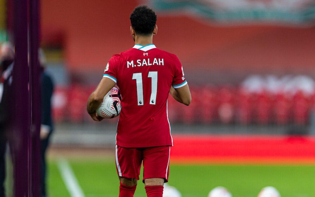 Mo Salah for Liverpool vs Leeds for LFC