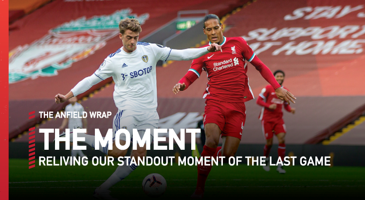 Liverpool 4 Leeds United 3 | The Moment