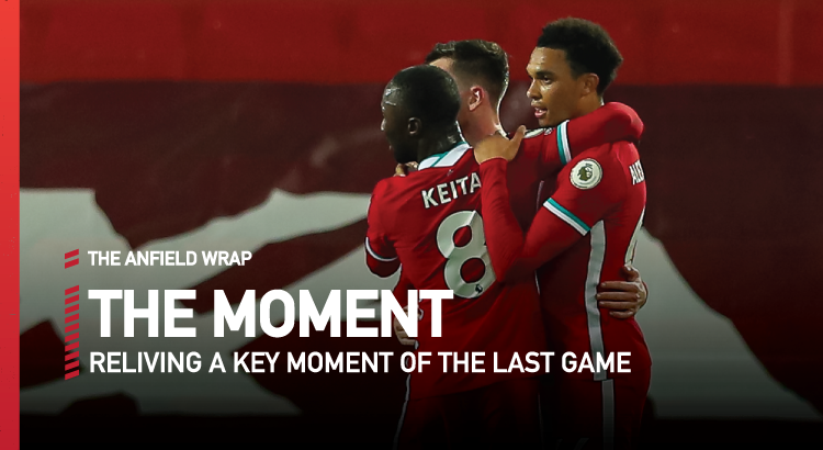 Liverpool 3 Arsenal 1 | The Moment