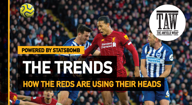 How The Reds Are Using Their Heads | The Trends