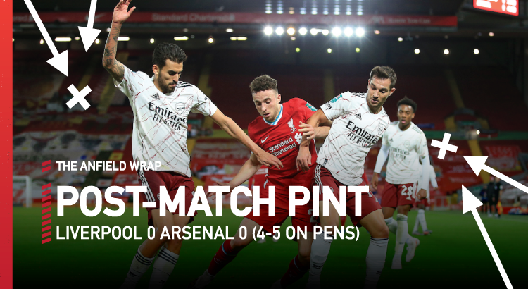 Liverpool 0 Arsenal 0 (4-5 Pens) | The Post-Match Pint