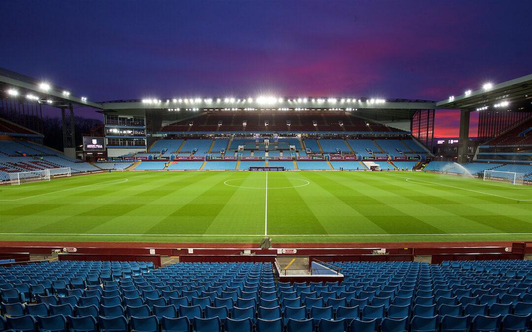 A general view of Aston Villa's Villa Park stadium