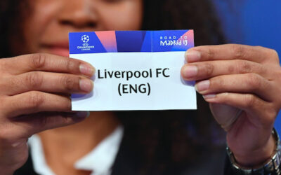 Liverpool FC in the draw for the UEFA Champions League