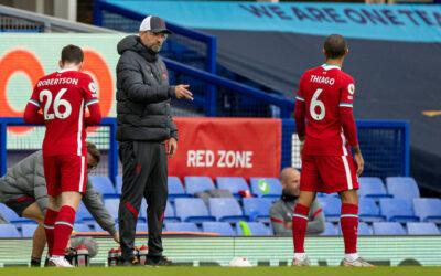 Andy Robertson, Jurgen Klopp, Thiago, Merseyside Derby