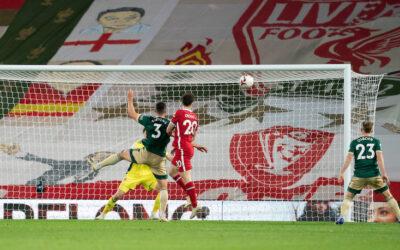 Diogo Jota header vs Sheffield United