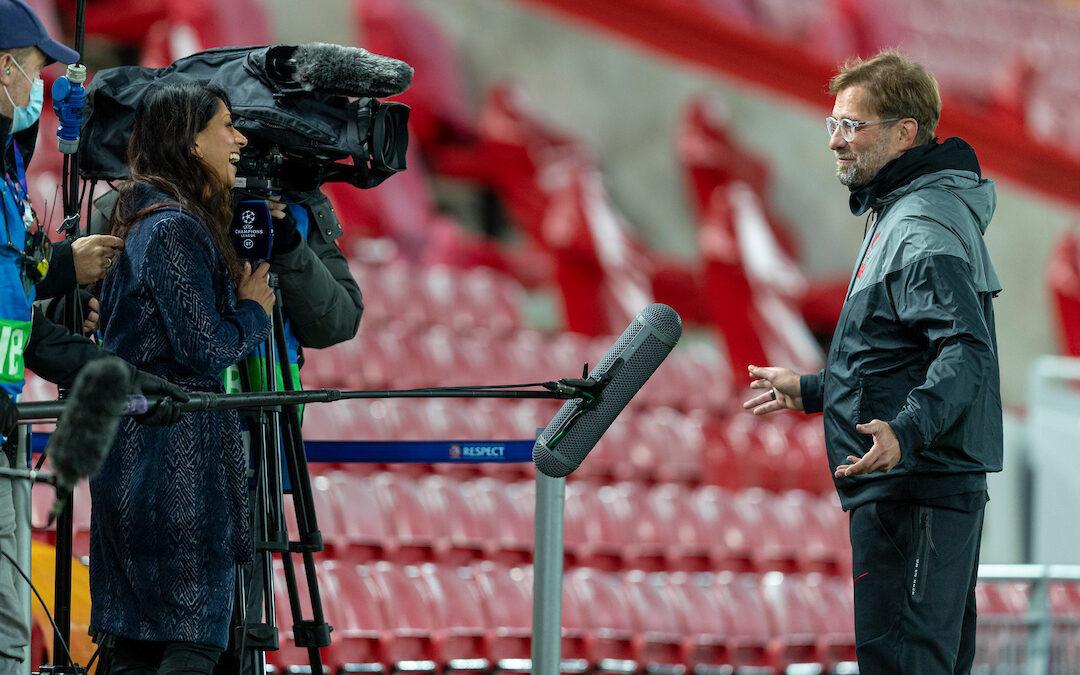 Liverpool v West Ham United: The Team Talk