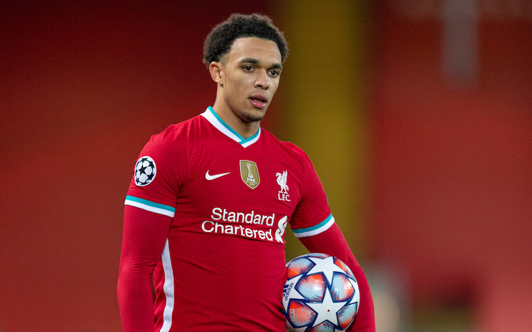 Trend-Setting Trent Shines Bright Under The Anfield Lights