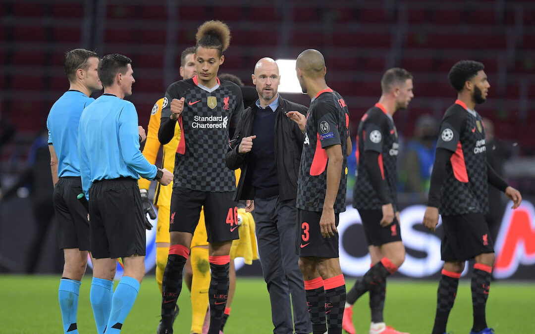 Ajax 0 Liverpool 1: The Match Review