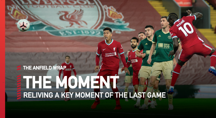 Liverpool 2 Sheffield United 1 | The Moment