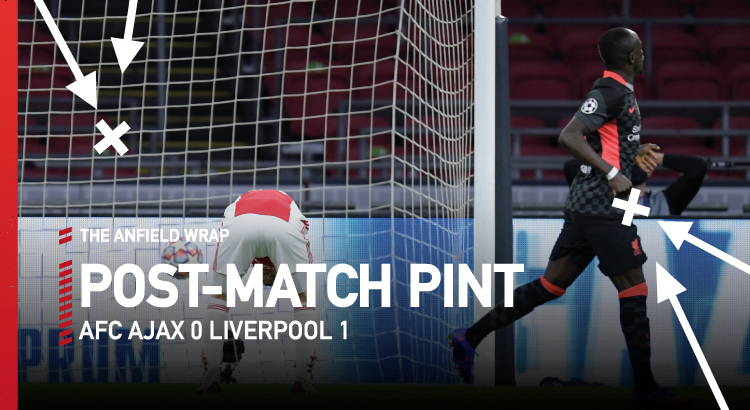 Ajax 0 Liverpool 1 - Post Match Pint - The Anfield Wrap