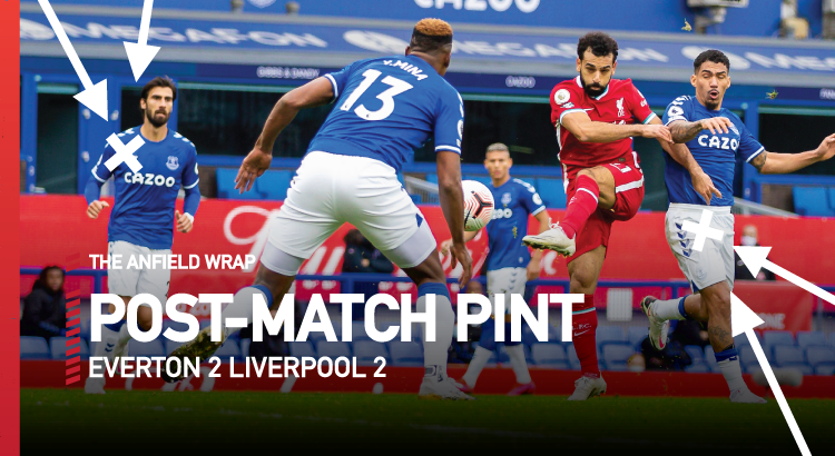 Everton 2 Liverpool 2 | The Post-Match Pint