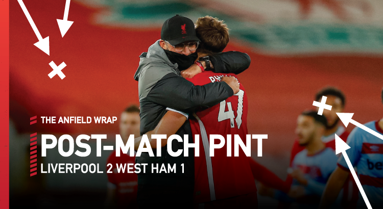 Liverpool 2 West Ham United 1 | The Post-Match Pint
