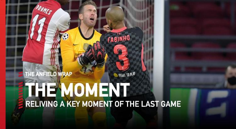 Ajax 0 Liverpool 1 | The Moment