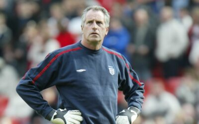 England's goalkeeping coach Ray Clemence